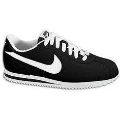 Nike Cortez Leather 06 - Women's - Black/White/Metallic Silver....i want