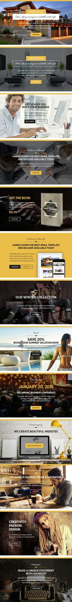 VEBU responsive #email #newsletter #template designed for general - business email template