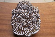 batik - wax stamp of Ganesh