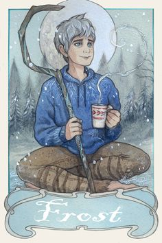 Jack Frost Rise Of The Guardians Inspired Tea  by BeastlyBeverages, £8.00