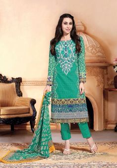 Lawn Cotton Embroidered Unstitched Dress Materials – 519 - http://member.bulkmart.in/product/lawn-cotton-embroidered-unstitched-dress-materials-519/
