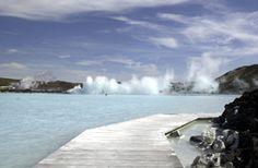 Blue Lagoon in Svartsengi, Iceland[© AP Images]   Must...go...to...Iceland!