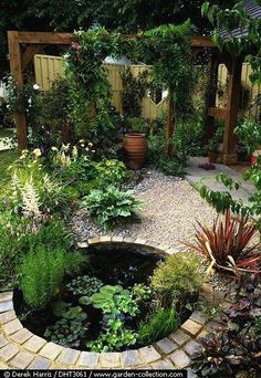 Great front yard landscaping ideas can transform your home's curb appeal. Your front yard design can greatly impact the way your home looks from the outside. Ponds Backyard, Backyard Landscaping, Landscaping Ideas, Backyard Ideas, Pond Ideas, Landscaping Software, Koi Ponds, Oasis Backyard, Patio Pond