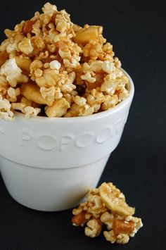 Caramel Apple Corn. Might be interesting to find a way to work some bourbon into this.
