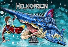 Jurassic World HELICOPRION by wingzerox86