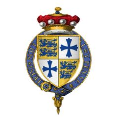 Arms of Sir John Sutton, 1st Baron Dudley, KG (1400 - 1487) 16th GGF