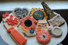 Bridal Collections - Traditional Wedding Favors combined with Destination Favors by Lorraine's Cookies