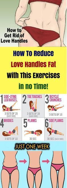 How To Reduce Love Handles Fat With This Exercises in no Time