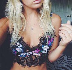Lace Bralette Top