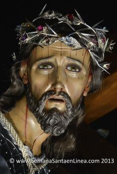 Consagrada Imagen de Jesus Nazareno del Consuelo, Templo de la Recoleccion, año 3012. Nueva Guatemala de la Asuncion