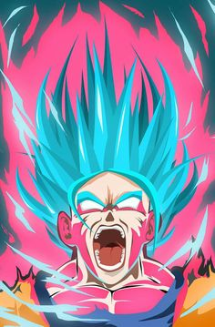 God Goku kaioken #DragonBall