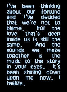 Moody Blues - The Story in Your Eyes - My FAV MB song!  Song lyrics, song quotes, songs, music lyrics, music quotes