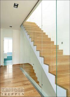 Glasgeländer für Ihre Treppe - Krieger-Treppen