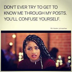 Yes never try to I post stuff about magcon boys sad stuff funny stuff cute couple stuff and so on it's to confusing True Quotes, Funny Quotes, Funny Memes, Real Quotes, Lol, Funny As Hell, I Can Relate, Get To Know Me, Queen