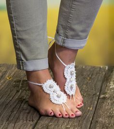 How To Make Seaside Bliss Barefoot Sandals