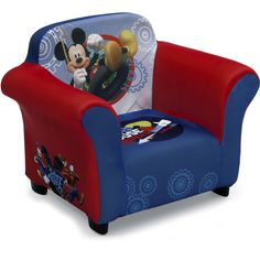 Modern Sofa Kids Children Toddlers Upholstered Fabric Chair