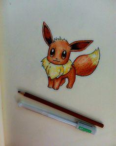 Eevee drawing ❤ @kocatwins