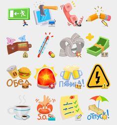 Office Stickers Set | Telegram Stickers