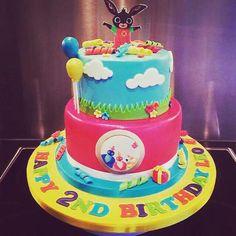 twirlywoos birthday cakes - Google Search Thomas Birthday, Baby Boy 1st Birthday, First Birthday Cakes, Birthday Parties, Birthday Ideas, Bing Cake, Funny Cake, Cake Board, How To Make Cake