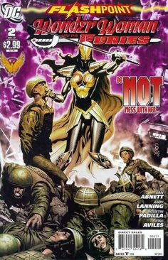 Flashpoint: Wonder woman and the Furies (DC, 2011) #2 (of 3)
