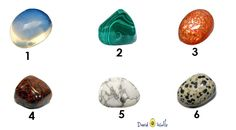 Pick-a-stone and see what it says about you.