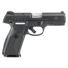 "Ruger 9E Semi Auto Pistol 9mm 4.14"" Barrel 10 Rounds Black - 3341 - 736676033416"