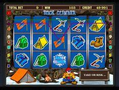 Играть в казино Вулкан на автомате Rock Climber Игроков казино Вулкан, которых увлекает скалолазание, обязательно заинтересует и автомат Rock Climber на реальные деньги. Здесь есть все, что требуется для подъема на вершину горы. Помощниками игрока казино Вулкан будут спец