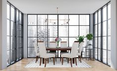 Simple yet sophisticated, the Urban Dining Set is the ideal minimalistic dining set for any dining space. Furniture Dining Table, Dining Chairs, Lakeside Mall, Galleria Mall, Dark Mahogany, Dining Set, Living Spaces, Minimalist, Urban