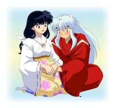 Based on the night InuYasha and Kagome's child was born. Kagome labor was hard, but she was able to hear her child cries after a long waiting. At first Inuyasha was scared of the fact of . Inuyasha Fan Art, Inuyasha And Sesshomaru, Kagome And Inuyasha, Inuyasha Memes, Miroku, Kagome Higurashi, Kirara, Geeks, Otaku