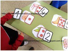 Aula de la maestra Laura: Tarjetas-Equivalencia de conjuntos II