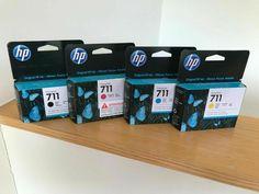 4x Ink HP Designjet T120 T520 / No. 711 CZ129A CZ130A CZ131A CZ133A #HP