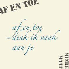 'af en toe'