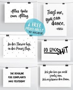 Meer by Anna-Maria Dahms: Free Printables: 6 Typo Freebies Ann.Meer by Anna-Maria Dahms: Free Printables: 6 Typo Freebies The post Ann.Meer by Anna-Maria Dahms: Free Printables: 6 Typo Freebies & Printables & Freebies appeared first on Free . Free Planner, Printable Planner, Planner Stickers, Free Printables, Bujo, How To Make Banners, Best Free Fonts, Freebies, Free Prints