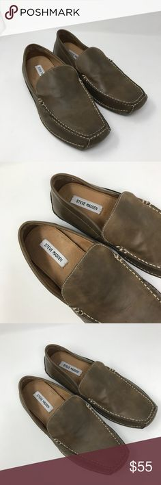 Steve Madden men loafers Gently used condition, genuine leather lining,  size 11 Steve Madden