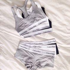 Calvin Klein sports bra and underwearNWT