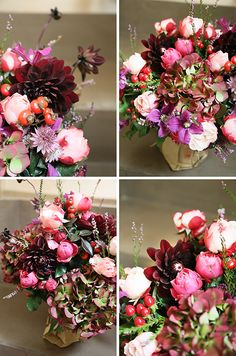 Avoriophoto: * Florals - Grazie dei Fiori's Bordeaux Bouquet *