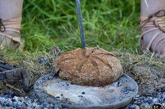 Roman military bread making