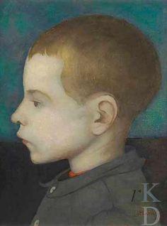 Portrait of a Boy - Jan Mankes 1889-1920 | Dutch painter.