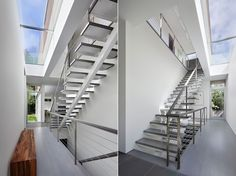 Stair | Spaces | Stelle Lomont Rouhani Architects | Award Winning Modern Architect, Hamptons, New York