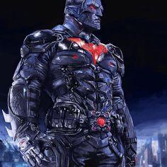 Batman Beyond - Arkham Knight, Geoff Murphy Batman Arkham Knight, Batman The Dark Knight, Superman, Batman Begins, Batman Family, Dc Characters, Cool Cartoons, Cartoon Fun, Batman Robin