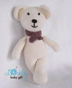 Amigurumi  Pattern Crochet Bear Teddy Bear by LovelyBabyGift