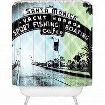 Amy Smith Santa Monica CA Shower Curtain