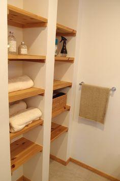 小山展示場へ行く|スウェーデンハウスで学ぶマイホームの基礎知識 Ideal Home, Room, Laundry In Bathroom, Shelves, Interior, House Rooms, Home Decor, Dressing Room, Bathroom Inspiration