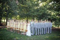 wedding party pics | Lindsey Hawk Designs