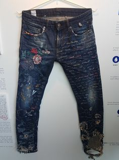 worked on denims