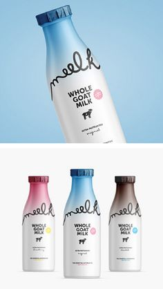 Meelk Whole Goat Milk by Chiapa Design, Mariane Silva
