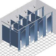 Idea for privacy in washrooms