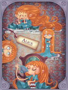 ALICE IN WONDERLAND BY MIKLOS WEIGERT