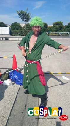 Roronoa Zoro Cosplay from One Piece in Comicket Summer 2014 JP
