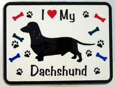 I ♥love my dachshund
